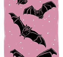 Batty in Rose by HeyRockee