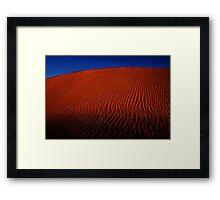 Desert Sand Dune  Framed Print