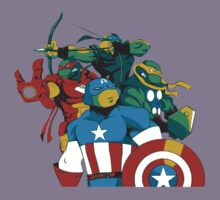 Turtles Avengers Kids Clothes