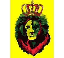 Reggae Rasta Lion. Photographic Print