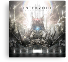 Intervoid - Weaponized Album Art Canvas Print