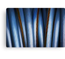 Realistic Abstract (garden hose) Canvas Print