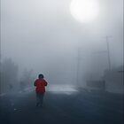 Woman in the Mist - Clunes, Victoria by jackgreig