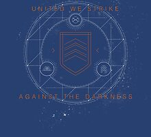 United We Strike Against the Darkness by James Camilleri