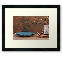 Zen Elements Framed Print