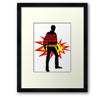 Rory Williams EPIC Framed Print