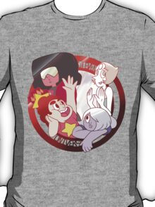 Steven Universe and the Crystal Gems T-Shirt