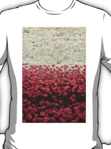 Tower Poppies 04A T-Shirt
