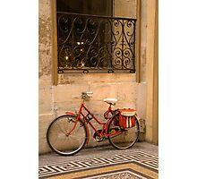 Parisan Bicycle Photographic Print