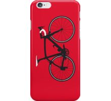 Bike Pop Art (Black & White) iPhone Case/Skin