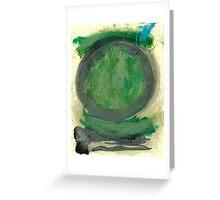 Green Tao Greeting Card