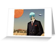 DRESS MAN Greeting Card