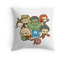 Funny AVENGERS Throw Pillow