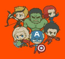 Funny AVENGERS Kids Clothes