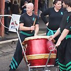 Dragon Drummers Clunes Book Festival Victoria by jackgreig