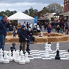 Chess game Clunes Book Festival by jackgreig