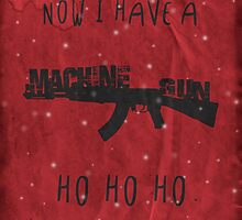 'Die Hard' Inspired Christmas Card by topshelf