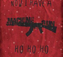 'Die Hard' Inspired Christmas Card by topshelf