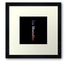 Les Miserables - Les Misérables Framed Print