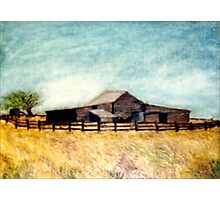The Old Woolshed Photographic Print