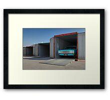 Blue Holden HK Ute Framed Print
