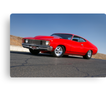 Red Ford XC Coupe Canvas Print