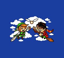 harry potter vs zelda by pixing