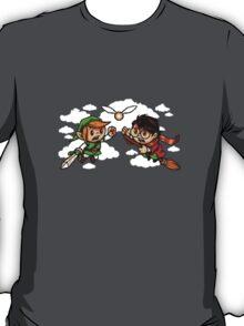 harry potter vs zelda T-Shirt