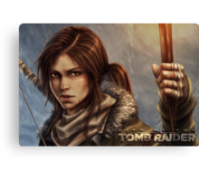 Rise of the Tomb Raider - v02 Canvas Print