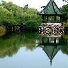 Reflective Lake by Christina Tang