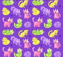 Whole Lotta Cat (Neon version) by Versiris