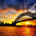 Sydney Harbour Bridge Sunset by Christopher Chan
