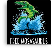 Jurassic World Free Mosasaurus Canvas Print