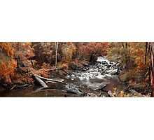 Cascades In Autumn  Photographic Print