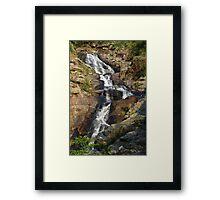 The Hidden Waterfall V - Hong Kong. Framed Print