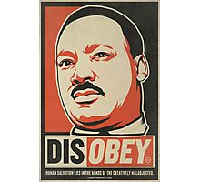 MLK Disobey Photographic Print