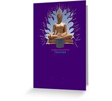 Amazing Thai Buddha Statues Greeting Card
