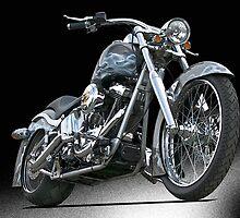 Custom Harley Davidson 'Studio' 2 by DaveKoontz