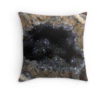 Inside a Geode Throw Pillow