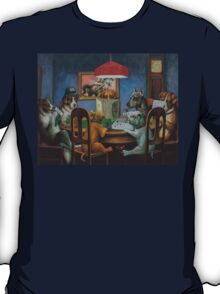 Dogs Playing D&D T-Shirt