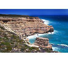 Kalbarri Coastal Cliffs - Western Australia  Photographic Print