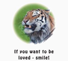 Smiling Tiger by Thomas F. Gehrke