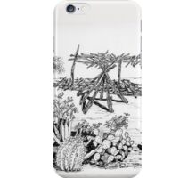 A Papago Shade Structure iPhone Case/Skin