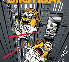Despicable Escape - Birthday card by DJKopet