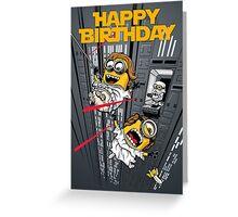 Despicable Escape - Birthday card Greeting Card