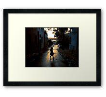 summerstroll Framed Print