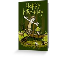 Training We Are - Birthday card Greeting Card