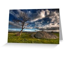 Cloudy Afternoon at Dog Rocks Greeting Card