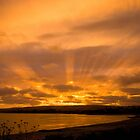 Encounter Bay Sunset by Helen Simpson