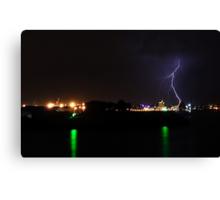 Lightning Strike  Canvas Print